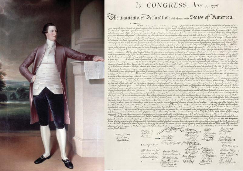 L'abruzzese che firmò la Dichiarazione di Indipendenza degli Stati Uniti d'America