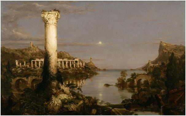 Thomas Cole e 'Il corso dell'Impero'. Profetico o visionario?