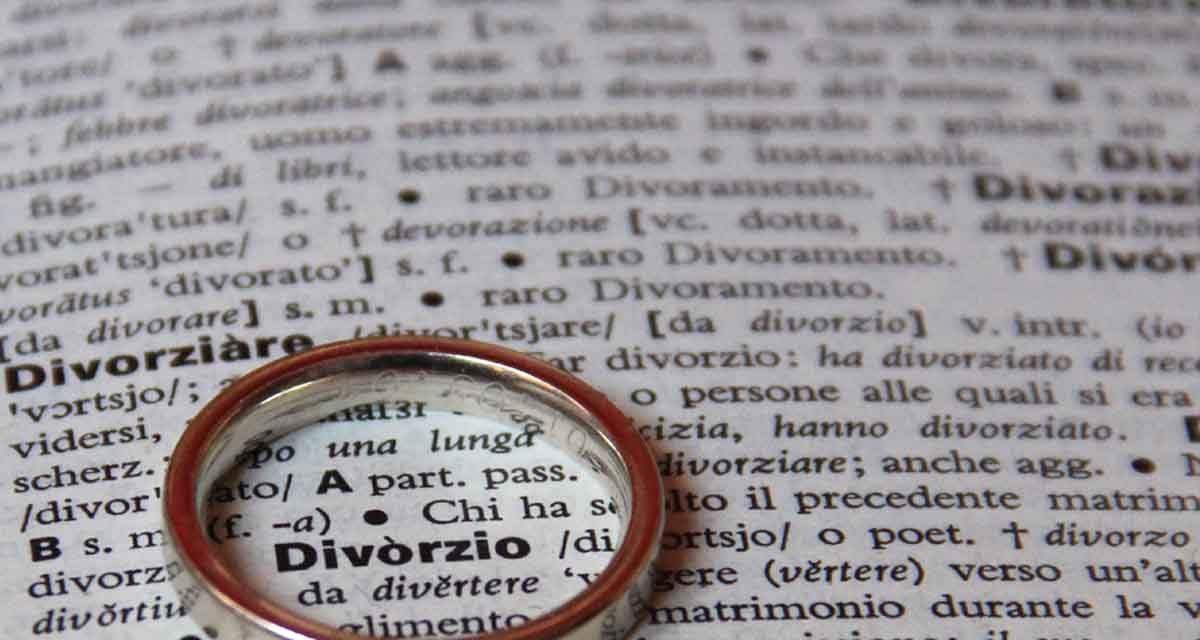 Divorzio, il primo caso documentato in Abruzzo nel 1712