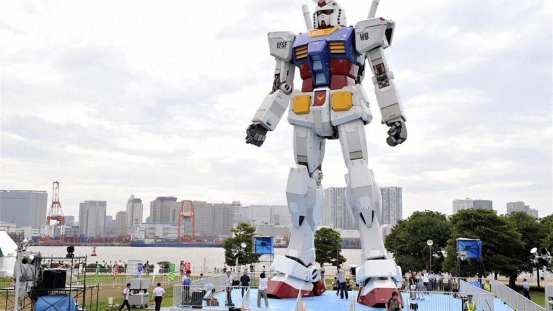 Cartoni animati giapponesi. Arriva Gundam in scala reale